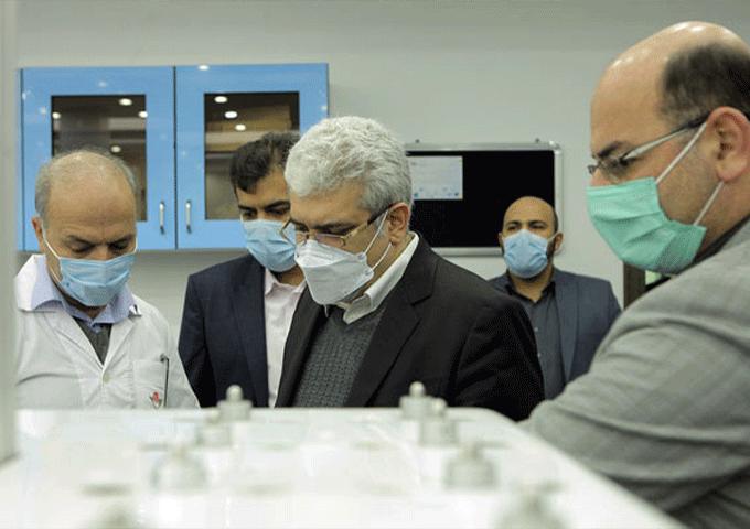 بازدید دکتر ستاری از شرکتهای دانش بنیان ایستگاه نوآوری شریف