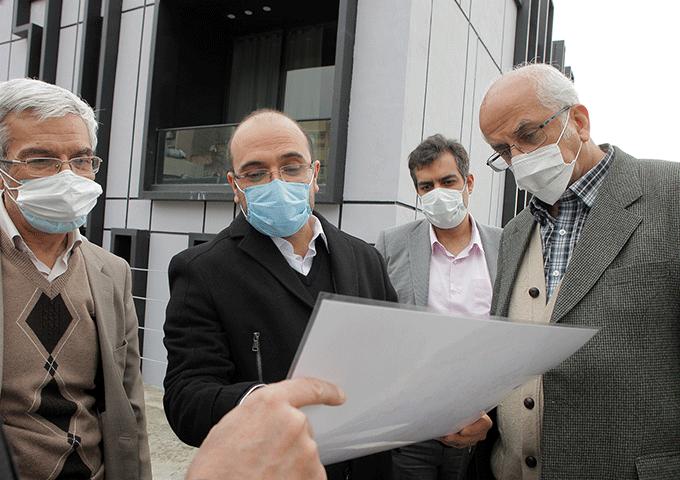 بازدید معاون پژوهش و فناوری وزیر علوم از ایستگاه نوآوری شریف
