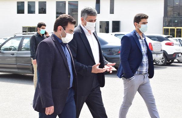 بازدید معاون وزیر از ایستگاه نوآوری شریف