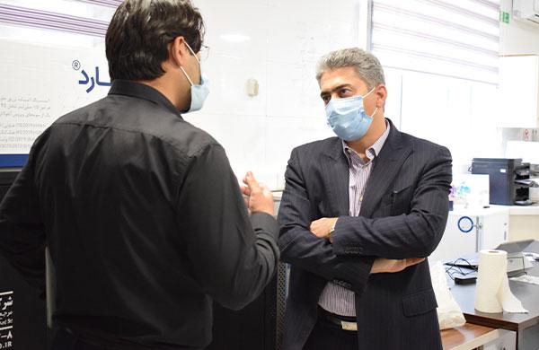 بازدید معاون وزیر از نیوان فارمد سلامت